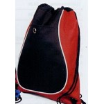 Hipster Pack Drawstring Backpack W/ Earphone Grommet (14.5