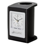 Desk Clock & Pen Holder