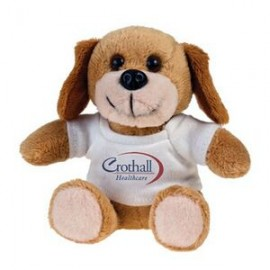 Dog Koo-Keezz Stuffed Animal with Custom Imprint T-Shirt