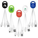 """Ogden"" 2-in-1 Charging Cable for Cell Phones & Tablets"