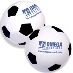 Soccer Ball Stress Reliever Custom Printed