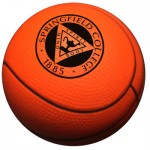 Custom Printed Basketball Stress Ball