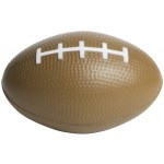 "Custom Printed Slow Return Foam Squeezies Football Stress Reliever (3.5"")"