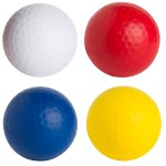 Golf Ball Squeezies Stress Reliever Logo Branded