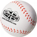Custom Printed Baseball Stress Reliever