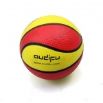 Logo Branded PU Basketball Stress Ball