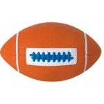 Custom Imprinted Rubber Football (Mid Size)