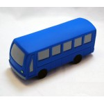 Logo Branded City Bus Stress Reliever