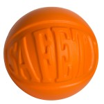 Custom Printed Safety Wordball Squeezies Stress Reliever