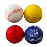 Custom Printed Baseball Stress Reliever