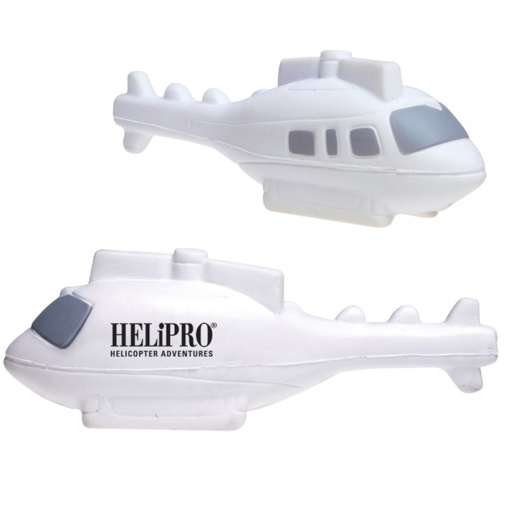 Helicopter Stress Reliever Custom Printed