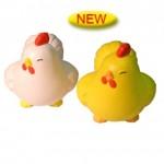 Custom Printed Happy Chicken Stress Reliever