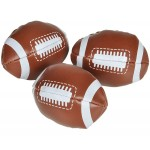 Custom Printed Mini Soft Stuff Football Stress Reliever