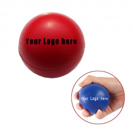 Large PU Reliever Balls For High-Stress People Logo Branded
