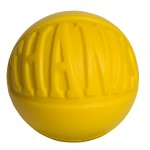 Thanks Wordball Squeezies Stress Reliever Logo Branded
