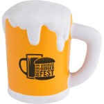 Custom Printed Beer Mug Stress Reliever