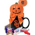 Pumpkin Stress Ball with Candy Mug Custom Imprinted