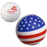 Patriotic Stress Ball Custom Printed