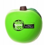Green Apple Stress Reliever Custom Imprinted