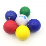 Logo Branded Round shape solid color stress reliever