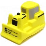 Yellow Bulldozer Stress Reliever Custom Printed
