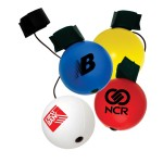 Round Bounce Back Stress Reliever Custom Imprinted