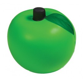 Green Apple Squeezies Stress Reliever Custom Printed