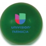Custom Printed Solid Colored Green Stress Ball