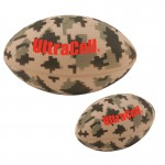 "Logo Branded 5"" Digital Camo Football Stress Reliever"