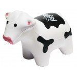 Custom Printed Black & White Cow Stress Reliever
