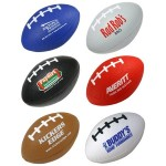 "2 1/2"" Football Shape Stress Ball Custom Printed"