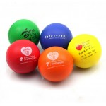PU Soft Stress Ball Logo Branded