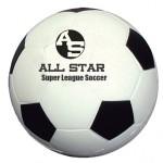 "Custom Imprinted 2 1/2"" Soccer Shape Stress Ball"