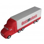 Logo Branded Truck Shaped Stress Relievers