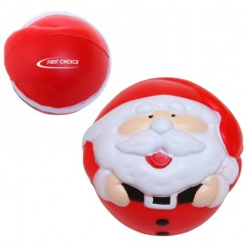 Logo Branded Santa Stress Reliever
