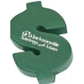 Dollar Sign Stress Reliever Logo Branded