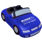 Blue Convertible Car Stress Reliever Custom Imprinted
