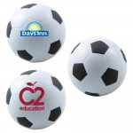 Soccer Stress Ball Logo Branded