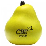 Pear Stress Reliever Logo Branded