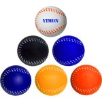 Baseball Style Stress Reliever / Fun Toy Custom Imprinted