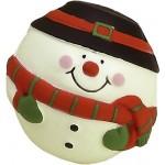 Custom Printed Snowman Stress Reliever