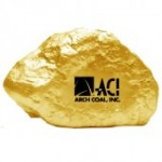 Gold Ore Stress Reliever Custom Printed