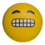 Custom Printed Emoji Yikes Squeezies Stress Reliever