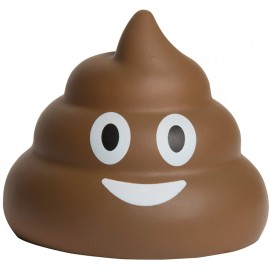 Logo Branded Emoji Poo Squeezies Stress Reliever