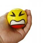 "Logo Branded 2 1/2"" Stress Ball"
