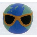 Logo Branded Sport Series Earth Ball w/ Sunglass