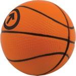 Basketball Stress Reliever Custom Imprinted