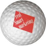 Logo Branded Golf Ball Stress Reliever