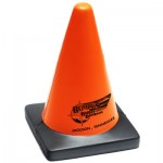 Logo Branded Traffic Cone Stress Reliever
