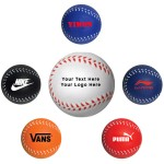 Baseball Style Stress Reliever / Fun Toy Custom Printed
